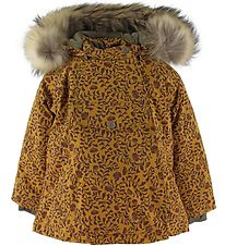 Mini A Ture Vinterjakke - Wang Fur - Buckthorn Brown