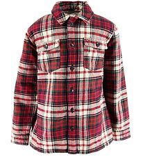 Tommy Hilfiger Jakke - Teddy Check - Red Check