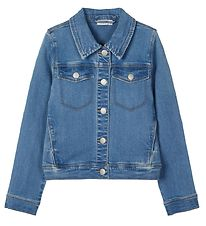 Name It x Disney Jakke - NkfMinnie - Medium Blue Denim