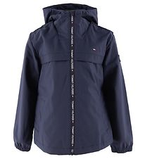 Tommy Hilfiger Jakke - Coated - Navy