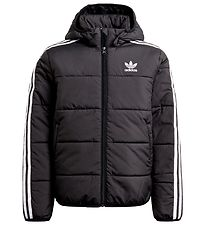 adidas Originals Dynejakke - Padded - Sort m. Hvid