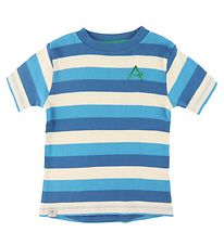 AlbaBaby T-shirt - The Bell - Snorkel Blue Stripes