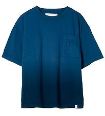 Finger In The Nose T-shirt - King - Work Blue Dip Dye