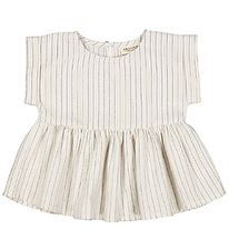 MarMar Top - Tiora - White Sage Stripes