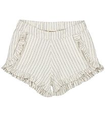 MarMar Shorts - Pytte - White Sage Stripes