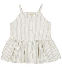 MarMar Top - Tannia - White Sage Stripes