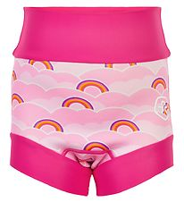 Color Kids Blebadebukser - UV40+ - Pink Yarrow