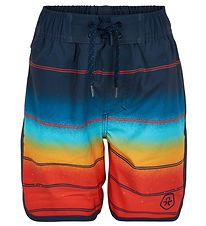 Color Kids Badeshorts - UV30+ - Fire