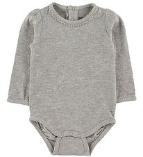 Mini A Ture X-Mas Body l/æ - Maxie - Light Grey Melange