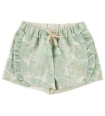 Mini A Ture X-Mas Shorts - Merle - Aqua Foam Green