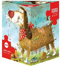 Heye Puzzle Puslespil - Dogs Life - 1000 Brikker
