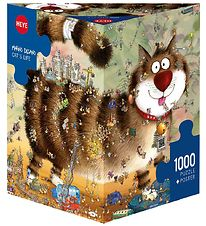 Heye Puzzle Puslespil - Cat´s Life - 1000 Brikker
