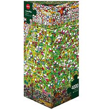 Heye Puzzle Puslespil - Crazy World Cup - 4000 Brikker