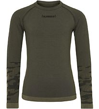 Hummel Active Bluse - Luka - Olive Night
