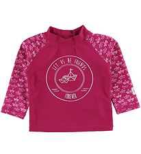 Color Kids Badebluse - Nammy - UV50+ - Fuchsia Red