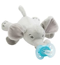 Philips Avent Sut m. Bamse - Ultra Soft - 20 cm - Elefant