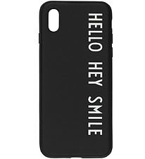 Design Letters Cover - iPhone X/XS - Black