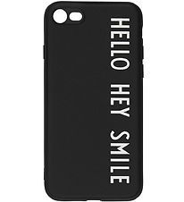Design Letters Cover - iPhone 7/8 - Black