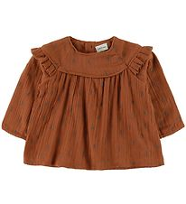 Mini A Ture Bluse - Cenia - Leather Brown