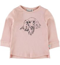 Wheat Bluse - Dog Misty Rose
