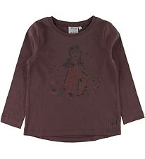 Wheat Disney Bluse - Frozen - Soft Eggplant m. Anna