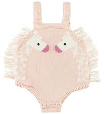Stella McCartney Kids Body u/æ - Strik - Rosa m. Giraf