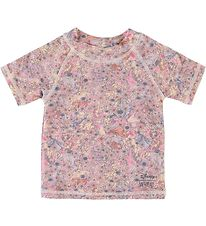Wheat Disney Badebluse - Princesses - UV50+ - Pudderrosa