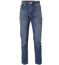 Hound Bukser - Relaxed Jeans - Dark Blue Used