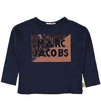 Little Marc Jacobs Bluse - Navy m. Palietter
