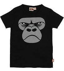 DYR T-Shirt - Primate - Black Zoomgorilla
