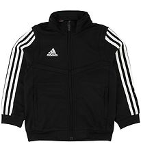 adidas Performance Cardigan - Tiro19 - Sort/Hvid