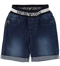 Emporio Armani Shorts - Mørk Denim