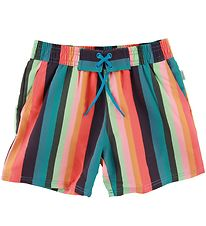 Paul Smith Junior Badeshorts - Avento - Multi Stribet