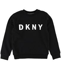 DKNY Sweatshirt - Sort m. Logo
