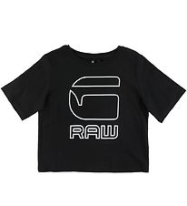 G-star RAW T-shirt - Crop - Sort