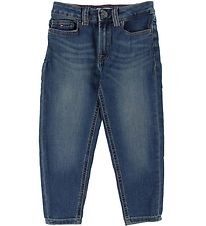 Tommy Hilfiger Jeans - High Rise Tapered - Blå