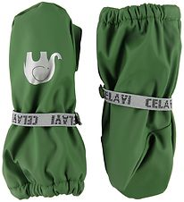 CeLaVi Luffer m. Fleece - PU - Elm Green
