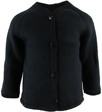 Smallstuff Cardigan - Uld - Sort