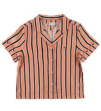 Tommy Hilfiger Skjorte - Resort Stripe - Orange