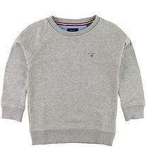 GANT Sweatshirt - The Original - Gråmeleret