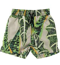 Sometime Soon Badeshorts - Splash - Jungleprint