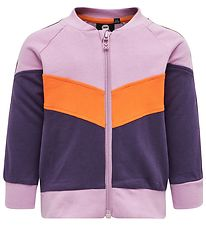 Hummel Cardigan - Veronica - Lilla/Orange
