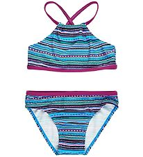 Color Kids Bikini - Kate - UV40+ - Berry m. Mønster