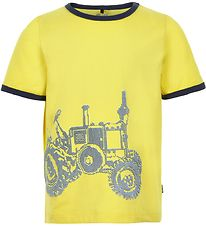 Me Too T-shirt - Lemon Yellow m. Traktor