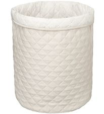 Cam Cam Opbevaringskurv - 50x50 - Quilted - Light Sand