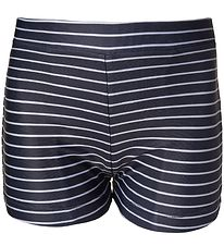 Melton Badeshorts - UV50+ - Navy m. Striber