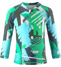 Reima Badebluse - Tuvalu - UV50+ - Jungle Green