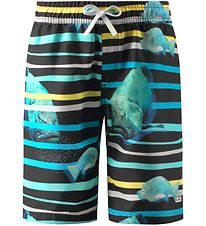 Reima Badeshorts - Cancun - UV50+ - Sort m. Fisk