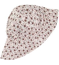 Nordic Label Sommerhat - UV50+ - Vendbar - Pale Dogwood m. Print