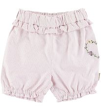 Hust and Claire Shorts - Hortensia - Hvid/Rosastribet